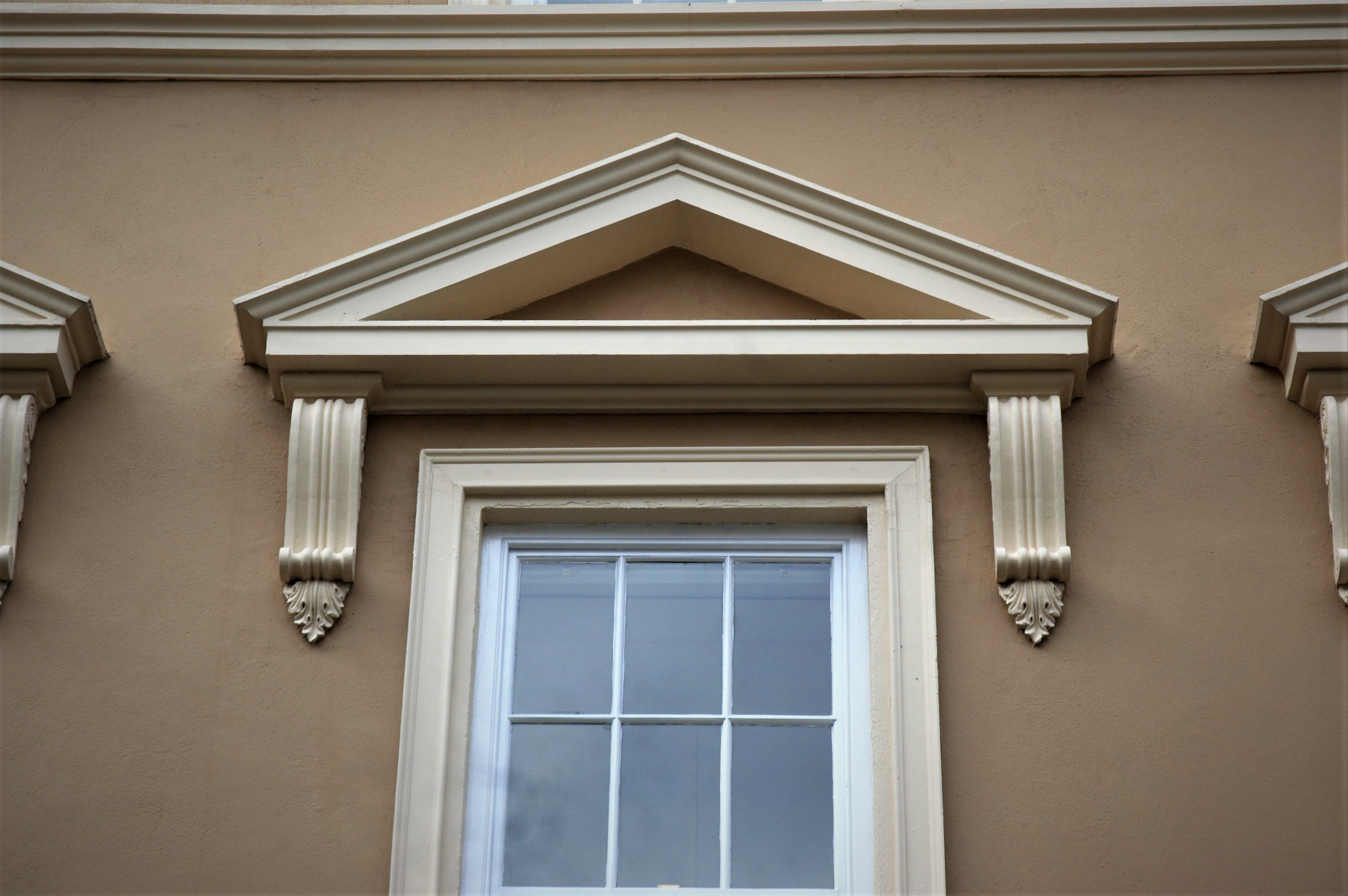 Exterior: Capital Plaster Mouldings